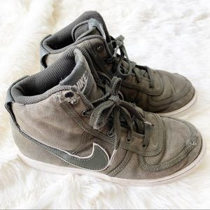 Nike green vandal high supreme AH5252-300 sneakers